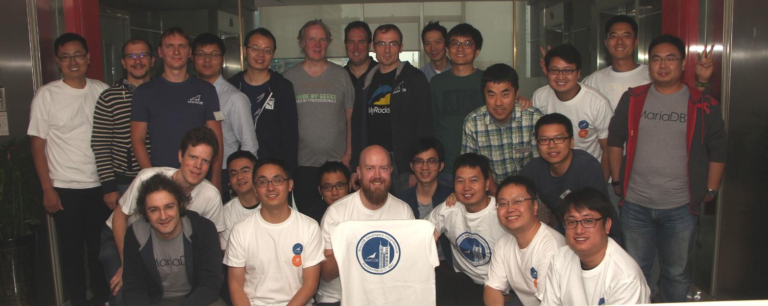 MariaDB Developers Unconference Group Photo