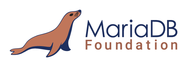 MariaDB Foundation Logo. Horizontal orientation.