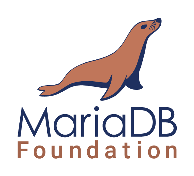 MariaDB Foundation Logo. Vertical orientation.